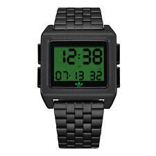 Adidas para hombre archivo M1 Z01 3274-00 Negro Reloj De Acero Inoxidable de Cuarzo Moda