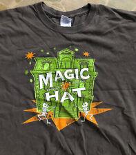 Vintage Magic Hat Brewing Company Skeletons/Skulls T-Shirt Size Large