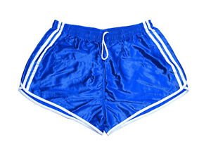 Vintage Blue Jogger Running Shorts Retro French army 95