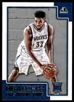 2015-16 Panini NBA Hoops Karl-Anthony Towns RC Minnesota Timberwolves #289
