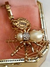 NEW IN BOX NWT Juicy Couture Charm Pearl Spider 2009 LIM ED YJRU3180  ORIG Tags