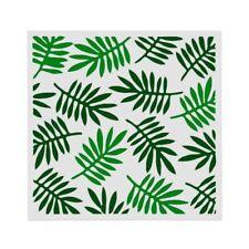 Leaf Leaves Reusable Stencil  Durable Furniture Wall ART Craft  13 x 13 cm