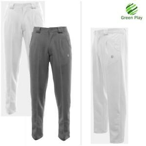Green Play Men's Professional Sports Bowling Trousers - NEW IMPROVED FIT