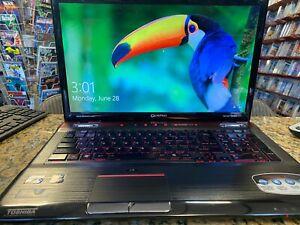 """Toshiba Qosmio X775 Gaming Laptop, NVIDIA, 17.3"""", i7-2670QM, 12GB RAM, SSD + HDD"""