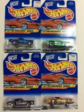 1997 Hot Wheels Complete Set of 4 Tattoo Machines Series 1:64 Scale Diecast MOC