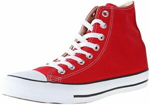 Converse Unisex  Chuck Taylor All Star HI Shoes  NEW AUTHENTIC Red M9621
