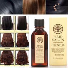 60ml Cure Soins de cheveux sec Huile d'Argan Bio hydratant Nourrissez Scalp Hair