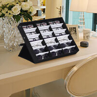 4/18 Slot Eyeglass Sunglasses Glasses Storage Display Grid Stand Case Box Holder