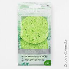 "1 ECOTOOLS Facial Mask Remover Sponges 2PK Natural Plant Pulp ""ET-7438"" *Joy's*"