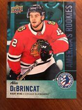 2018 UD National Hockey Card Day America's Rookie #USA-4 Alex DeBrincat