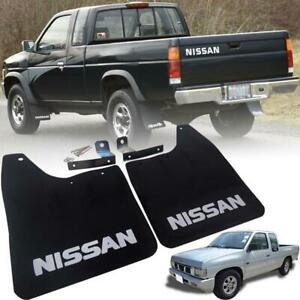US Stock 86-97 Fit Nissan Hard body Mud Flaps Guard Fender Flaps Guard Front
