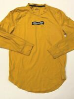 Hollister Long Sleeve Patch Logo T-Shirt Men's Small