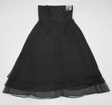 new AFTER SIX Women's Size 8 Strapless Formal A-Line Little Black Dress