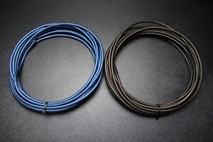 10 GAUGE AWG WIRE 100 FT BLACK 100FT BLUE CABLE STRANDED PRIMARY BATTERY IB10