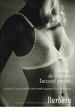 PUBLICITE ADVERTISING 034   1979   BARBARA soutien gorge  FA DIESE  sous vetemen
