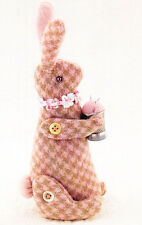 PATTERN - Bitty Bunny - cute wool rabbit pincushion PATTERN - Bunny Hill designs