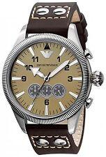 Orologio da uomo Emporio Armani in acciaio e pelle ref. AR5837