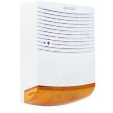 GRANDE SIRENE ALARME FACTICE EXTERIEUR 1 LED IR FACTICE CLIGNOTANTE