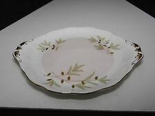 Royal Albert Braemar Handled Cake Plate Gold Trim TM