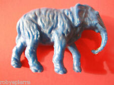 1 Animale Animali vintage in plastica Elefante blu anni settanta '70 ottanta '80
