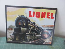 Lionel Locomotive Trains Tin sign Reproduction