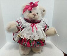 Knickerbocker Christmas Bear with Ear and Hang Tag 17""