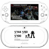 Sony Playstation Vita - Konsole Wi-Fi #Gundam Breaker Limited Edition JAPAN