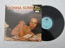 DONNA SUMMER lp I REMEMBER YESTERDAY gto 025 N/M