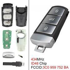 Keyless Flip Remote Key Fob 3C0959752BA fits VW Passat B6 3C B7 Magotan CC