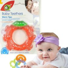 Baby Teether Silicone Bite & Brush Chewy Teething Healthy Soft Fun chill Toy UK