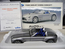 Ford Shelby Cobra Concept Car AUTOART MILLENIUM 1:18  Free Shipping