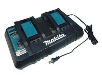 Makita DC18RD 18Volt Lithium-Ion Dual Port Rapid Optimum Charger 2 Port 18V