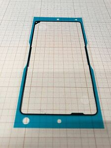 Original Adhesive WP Cover Rear Sony D5503 Xperia Z1 compact P/N:1275-2244