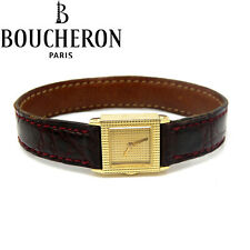 NYJEWEL Boucheron 18k Gold Reflet Vintage Manual Winding Ladies Watch