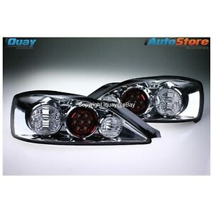 Altezza Tail Lights CHROME SET PAIR LH+RH For Nissan 200SX Silvia S15 UNIQUE LED