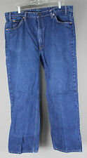 Vintage Orange Tab Men's Levi 517 Boot Cut Jeans Made in USA 42X30 TRUE VINTAGE