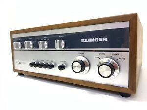 KLINGER KC-26 Stereo Amplifier 26Watts RMS Vintage 1968 Working 100% Good Look