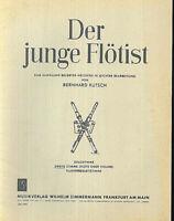 """"""" Der junge Flötist """"  Hrsg.Bernhard Kutsch - Flöte und zweite Stimme"""