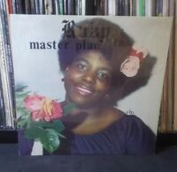 Ruby Brown- Master Plan LP RARE OOP Gospel Funk Soul RJB Records 1979 Phoenix AZ