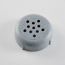 Cheese Shaker Tops-Plastic- Rust & Dent Free Forever Lids (12 Count) Gray 260GR