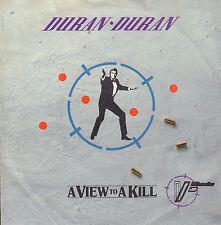 DURAN DURAN - A View To A Kill (1985 SINGLE DUTCH PS/OST JAMES BOND)