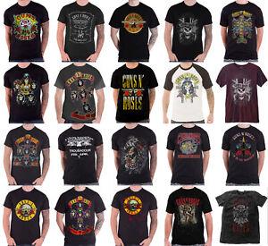 Official Guns N Roses T Shirt Appetite bullet not in this lifetime logo new mens