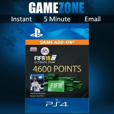 4600 FIFA 18 Ultimate Team Points - PS4 - PlayStation - PSN Code - UK - 2018