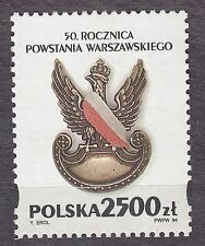 POLAND 1994 **MNH SC#3207 WWII - 50th anniversary of the Warsaw Uprising