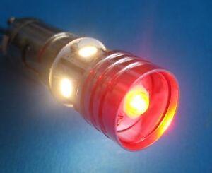 12V LED stop/tail bulb Positive earth BAY15d 12 Volt, suits BSA, Triumph, Norton