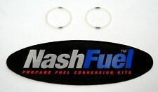 NYLON GASKET SEAL REPLACEMENT MARSHALL EXCELSIOR ME453 ME458 CHECK LOCK O-RING