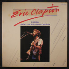 ERIC CLAPTON: Backless / 461 Ocean Boulevard / Slowhand LP (UK, 3 LP box set, t