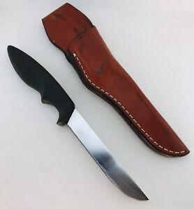 VINTAGE GERBER SHORTY KNIFE W/ SHEATH