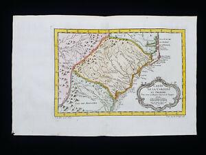 1754 J.N. BELLIN: NORTH AMERICA, UNITED STATES, GEORGIA, NORTH & SOUTH CAROLINA