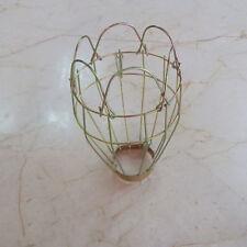 Vintage Trouble Light Industrial Steel Bulb Guard Clamp Metal Lamp Cage Pendants